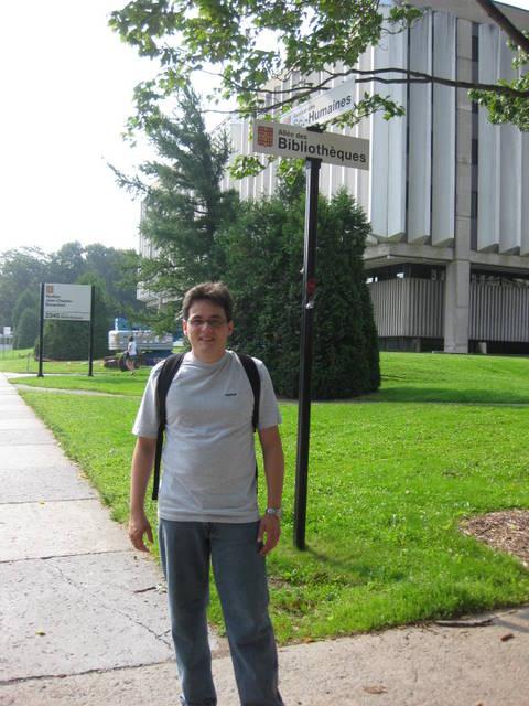 Eu na Université Laval